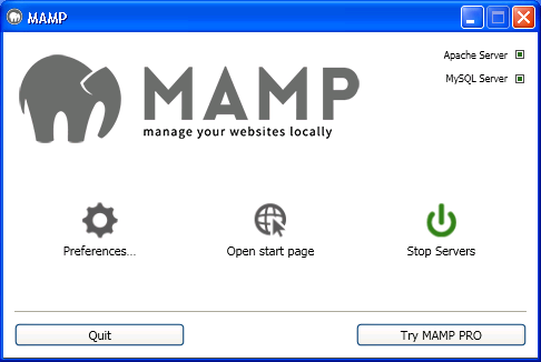 Get MAMP for your uniCenta oPOS installation