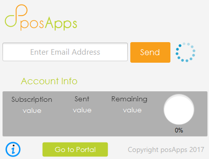 posApps Digital receipts for uniCenta oPOS